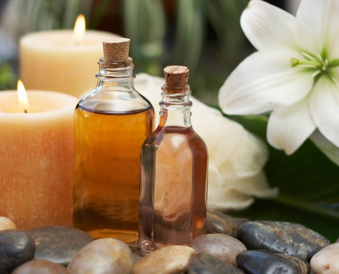 Massage essential oils